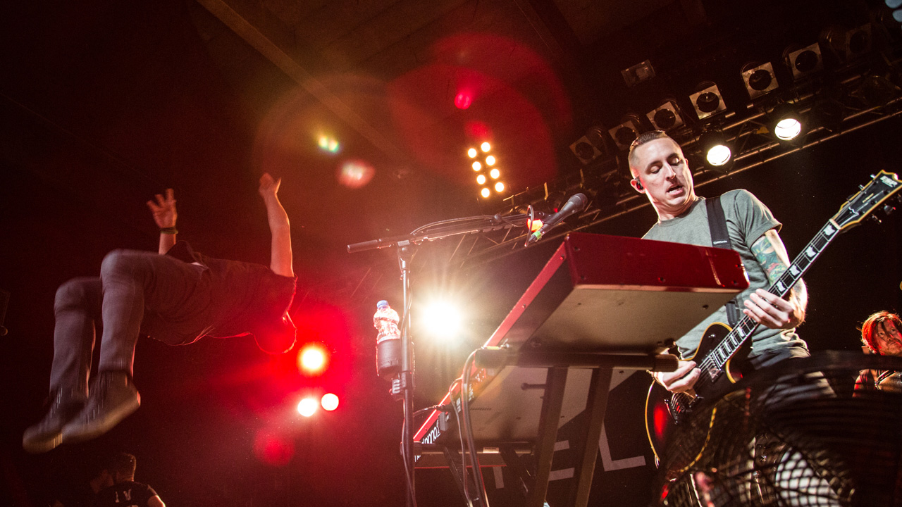 Yellowcard in der Live Music Hall in Köln 2015, Foto: Kirsten Otto