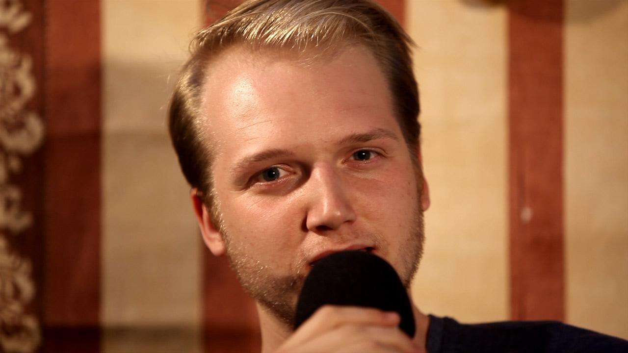 Vierkanttretlager-Sänger Max im Interview 2012